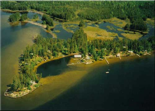North canada fishing lodge red pine wilderness lodge for Canada fishing resorts